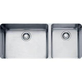 Franke Kubus Undermount Steel KBX12039 Stainless Steel Kitchen Sink