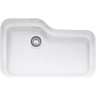 Franke Orca Undermount Fireclay ORK110WH White Kitchen Sink