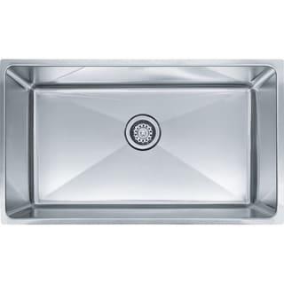 Franke Professional Series Undermount Steel PSX110309 Stainless Steel Kitchen Sink