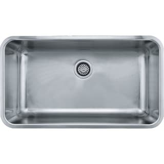 Franke Grande Undermount Steel GDX11031 Stainless Steel Kitchen Sink
