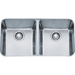 Franke Largo Undermount Steel LAX12034 Stainless Steel Kitchen Sink