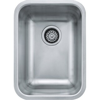 Franke Grande Drop In/Undermount Steel GDX11012 Stainless Steel Kitchen Sink