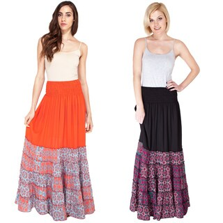 Handmade The Best of Both Worlds Gypsy Skirt (India)