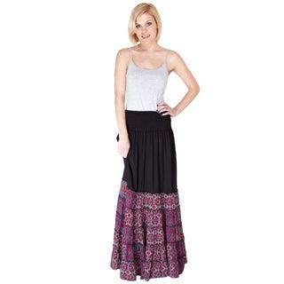 Handmade The Best of Both Worlds Gypsy Skirt (India)
