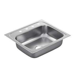 Moen Drop In Steel G221964 Kitchen Sink
