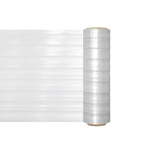 (1) Roll Vented Machine Hand Stretch Wrap Film 20 In 3280 Ft