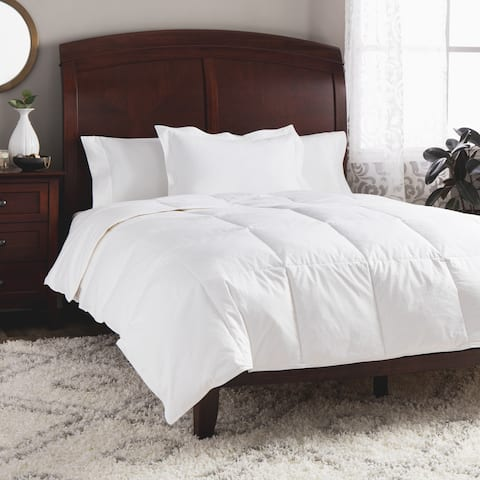 St. James Home Lightweight White Goose Down Comforter