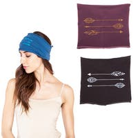 Handmade Spirit Arrow Organic Cotton Headband (Nepal)