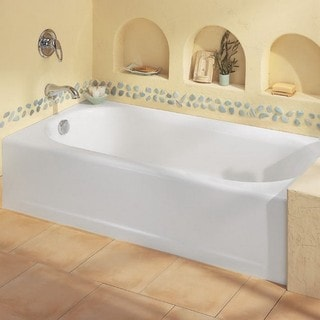 American Standard Princeton 2390.202ICH.020 White Soaking Bathtub