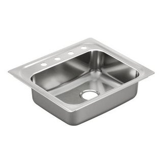 Moen Drop In Steel G181954 Kitchen Sink