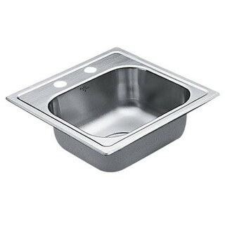 Moen Drop In Steel G224562 Kitchen Sink
