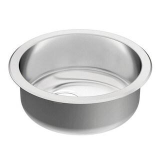Moen 1800 Series Undermount Steel G18415 Stainless Steel Kitchen Sink