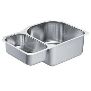 Moen Drop In Steel G18237 Kitchen Sink