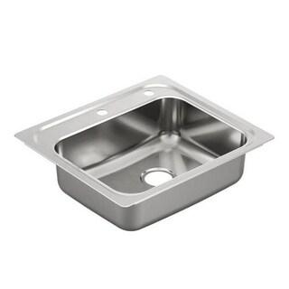 Moen 2000 Series Drop In Steel G201962 Stainless Steel Kitchen Sink