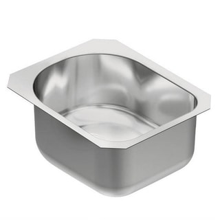 Moen 1800 Series Undermount Steel G18461 Stainless Steel Kitchen Sink