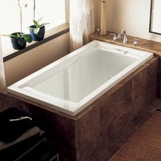 round japanese soaking tub. American Standard Evolution 2422V 002 011 Arctic Soaking Bathtub Tubs For Less  Overstock com
