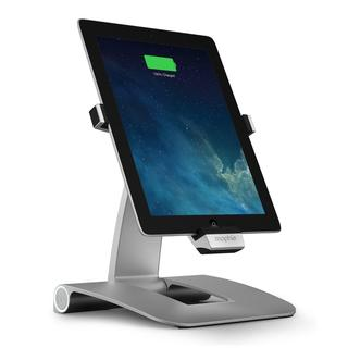 New Mophie 1196 Powerstand iPad Docking Station - Silver 2