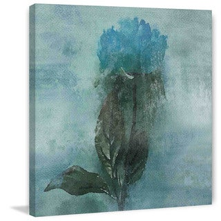 Marmont Hill 'Shades of Blue' by Irena Orlov Painting Print on Canvas
