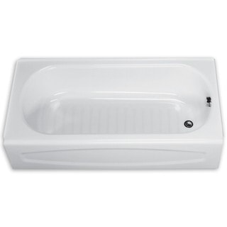 American Standard Salem 0255.212.020 White Soaking Bathtub