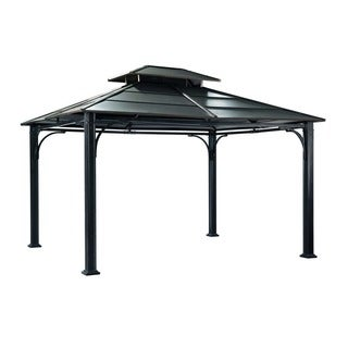 Sunjoy Steel Outdoor Gazebo