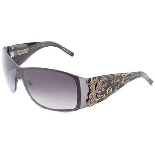 Ed Hardy Eht-907 Gunmetal Sunglasses
