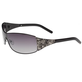 Ed Hardy Eht-908 Black Sunglasses
