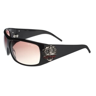 Ed Hardy Eht-910 Black Sunglasses