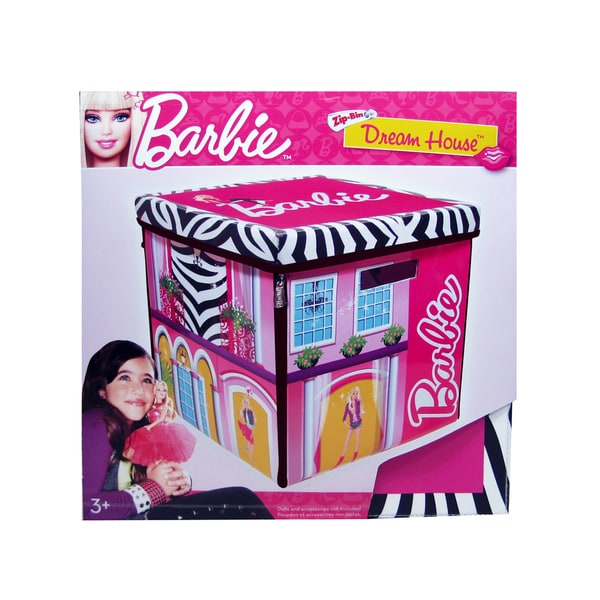 Barbie Doll Dream House Toy Box for up to 40 Dolls /& Playmat,Neat-Oh Top Quality