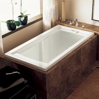 American Standard Evolution 7236V.002.020 White Soaking Bathtub