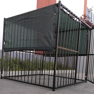 UV Rated Dog Kennel Shade Cover (6' x 12')