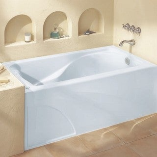 American Standard Cadet 2776.202.020 White Soaking Bathtub