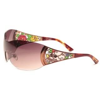 Ed Hardy Eht-903 Cocoa Sunglasses