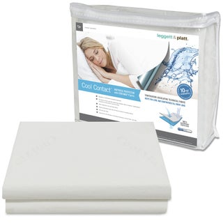 Sleep Chill Mattress Protector with Soft and Moisture Resistant CoolMax Fabric (More options available)