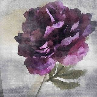 Marmont Hill 'Alone Flower' by Irena Orlov Painting Print on Canvas