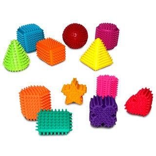 Hedstrom Assorted Sensory Shapes (Set of 12)