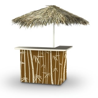 Best of Times Tiki Palapa Portable Standard Bar