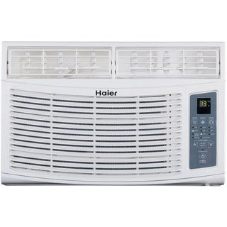 Haier ESA406N 6,000 BTU 115V Window-Mounted Air Conditioner and MagnaClik Remote with Braille
