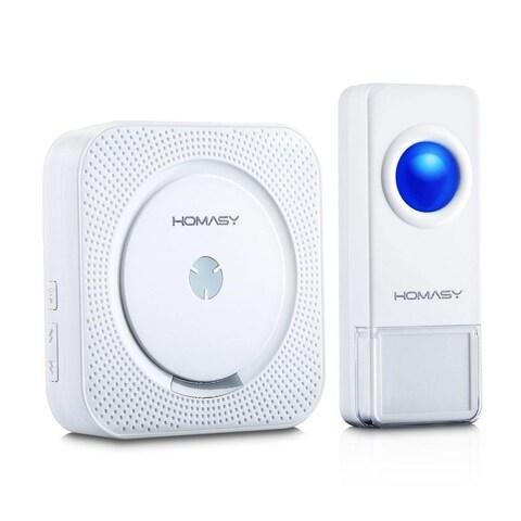 Wireless Doorbell with 1000 ft. IP55 Waterproof Transmitter