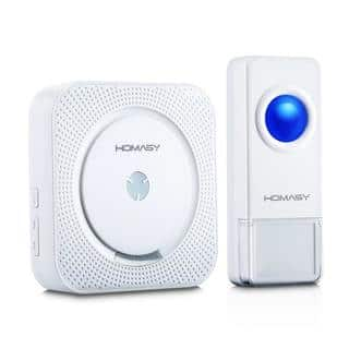 Wireless Doorbell with 1000 ft. IP55 Waterproof Transmitter|https://ak1.ostkcdn.com/images/products/11547842/P18492833.jpg?impolicy=medium