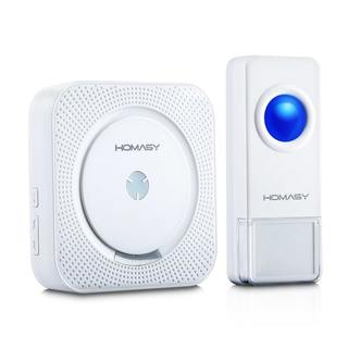 Wireless Doorbell with 1000 ft. IP55 Waterproof Transmitter