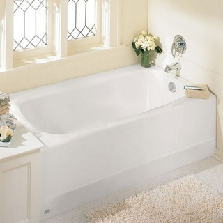 American Standard Cambridge 2461.102.020 White Soaking Bathtub