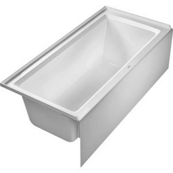 Duravit architec 700408000000090 soaking bathtub free for Duravit architec tub