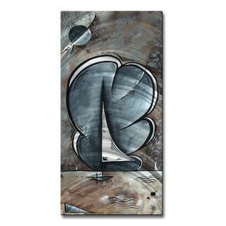 Shining Sea by Megan Duncanson Metal Wall Art