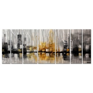 City View by Osnat Metal Wall Art Sculpture