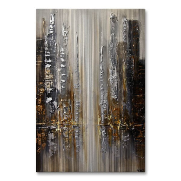 Shop Silver City By Osnat Metal Wall Art Free Shipping