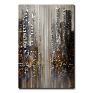 Silver City by Osnat Metal Wall Art