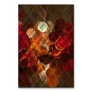 Red Dot by Osnat Metal Wall Art