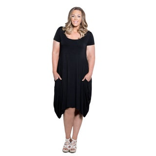 Sealed with a Kiss Women's Plus Size Celia Pocket Dress