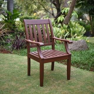Como Mohagany Outdoor Dining Arm Chair