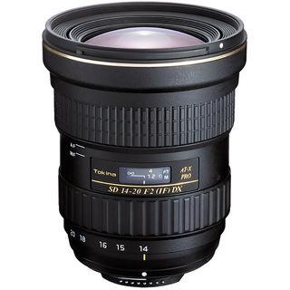 Tokina AT-X 14-20mm f/2 PRO DX Lens for Nikon F